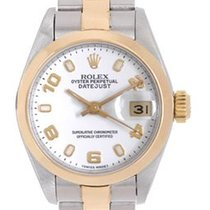 Rolex Oyster Perpetual Lady Date 26mm Blanc Arabes