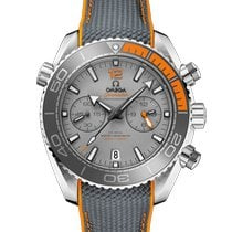 Omega Seamaster Planet Ocean Chronograph Titanium 45.5mm Grey No numerals United States of America, New York, New York