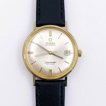 Omega Yellow gold Automatic 34mm pre-owned Seamaster DeVille