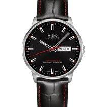 Mido Commander Acier 40mm Noir