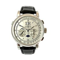 A. Lange & Söhne 410.025 Platinum 2006 Datograph 41mm pre-owned