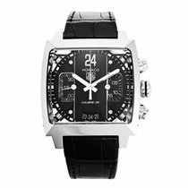 TAG Heuer Monaco Calibre 36 Steel 40.5mm Black