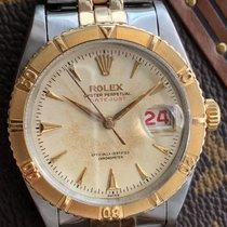 Rolex 6309 Gold/Stahl 1954 Datejust Turn-O-Graph 36mm gebraucht
