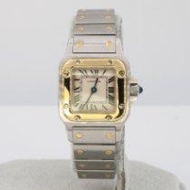 Cartier Santos Galbée Stahl 23.5mm Römisch