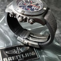Breitling Chronomat 44 Blacksteel Steel Black No numerals
