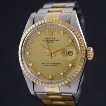 Rolex Oyster Perpetual Date Acero y oro 34mm Oro Sin cifras España, Barcelona