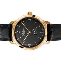 Glashütte Original Rose gold Automatic Black Arabic numerals 42mm new Sixties Panorama Date