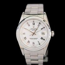 Rolex Oyster Perpetual Date Acél 34mm Fehér Római