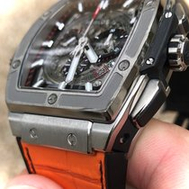 Hublot Titanio Automático Transparente Sin cifras 45mm usados Spirit of Big Bang