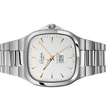 Glashütte Original Seventies Panorama Date Steel 40mm Silver No numerals United States of America, Florida, Aventura