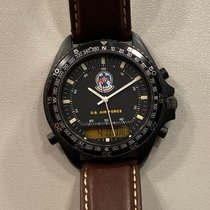 Breitling Pluton Acero 41,5mm Negro Sin cifras