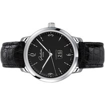 Glashütte Original Sixties Panorama Date Steel 42mm Black Arabic numerals United States of America, Florida, Aventura