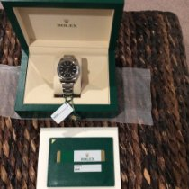 Rolex Oyster Perpetual 39 Steel 39mm Black No numerals United States of America, New York, Sayville