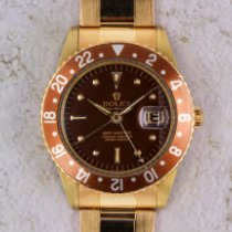 Rolex GMT-Master Yellow gold 40mm Brown No numerals United States of America, Florida, Sunny Isles Beach