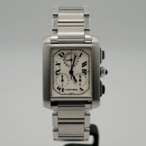 Cartier 2303 Steel Tank Française 28mm pre-owned United States of America, California, Santa Monica