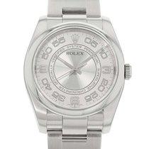 Rolex (ロレックス) オイスター パーペチュアル 36 ステンレス 36mm シルバー アラビアインデックス 日本, Osaka / Tokyo / Kobe / Nagoya
