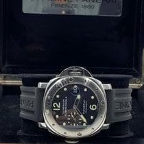 Panerai usados Automático 44mm Negro Cristal de zafiro 30 ATM