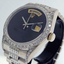 Rolex Acero Automático Negro 36mm usados Day-Date 36