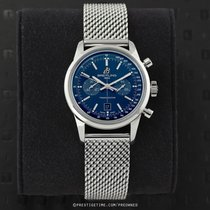 Breitling Transocean Chronograph 38 Steel 38mm Blue United States of America, New York, Airmont