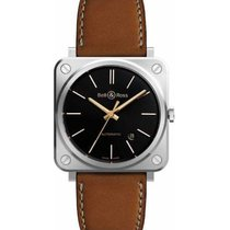 Bell & Ross Steel 39mm Automatic BRS92-ST-G-HE/SCA new