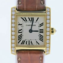Cartier Tank Française Yellow gold 18mm White United States of America, Florida, Newport Beach