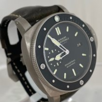 Panerai Luminor Submersible 1950 3 Days Automatic Titanium 47mm Black No numerals