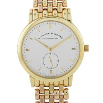 A. Lange & Söhne Saxonia Yellow gold 37mm White United States of America, Pennsylvania, Southampton