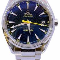 Omega Seamaster Aqua Terra Steel 41.5mm Blue United States of America, Florida