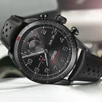 Oris Titanium Automatic Black Arabic numerals 44mm pre-owned Audi Sport