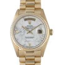 Rolex Day-Date 36 Yellow gold 36mm White United States of America, New York, New York