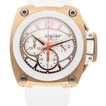 Wyler Rosa guld 43mm Automatisk S02.C1C.08.00.WH001.RWH07.22 brugt
