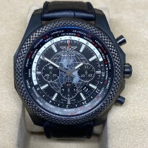 Breitling Bentley B05 Unitime tweedehands 49mm Zwart Chronograaf Datum Rubber