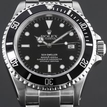 Rolex Sea-Dweller 4000 Stahl 40mm Schwarz Keine Ziffern Deutschland, Essen