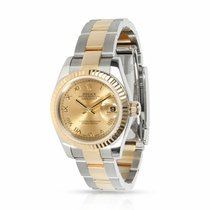 Rolex Lady-Datejust Steel 26mm Champagne Roman numerals United States of America, New York, New York