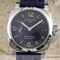 Panerai Luminor GMT Automatic Ocel 44.5mm Modrá