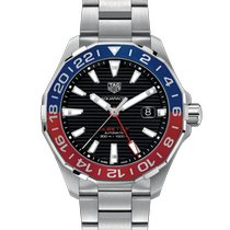 TAG Heuer Aquaracer 300M Steel 43mm Black No numerals United States of America, Pennsylvania, Philadelphia