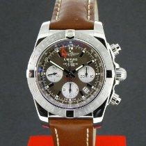 Breitling Chronomat 44 GMT Acero 44.5mm Marrón