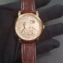 A. Lange & Söhne Lange 1 Oro rosa 41.9mm Plata (maciza) Romanos