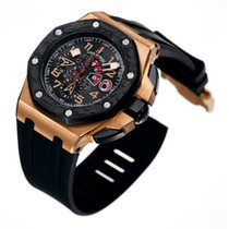 Audemars Piguet Royal Oak Offshore Chronograph Ouro rosa 44mm Preto Árabes
