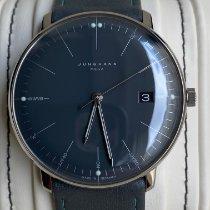 Junghans max bill MEGA Steel 38mm Grey No numerals