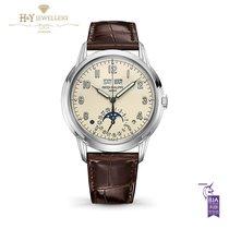 Patek Philippe Perpetual Calendar White gold 40mm Champagne Arabic numerals