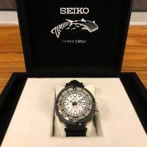 Seiko Prospex 50.2mm White No numerals