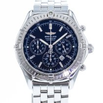 Breitling Shadow Flyback Zeljezo 38mm Crn