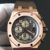 Audemars Piguet Royal Oak Offshore Chronograph Oro rosa 42mm Grigio Arabi Italia, Torino