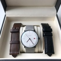 Junghans max bill Automatic Acier 38mm Blanc France, Luxembourg