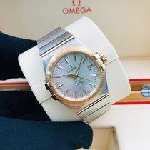 Omega Constellation Ladies новые Автоподзавод Часы с оригинальными документами и коробкой 123.20.35.20.02.001