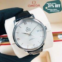 Omega De Ville Prestige Acero 39.5mm Plata