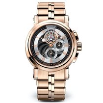 Breguet (ブレゲ) マリーン 新品 手巻き 正規のボックスと正規の書類付属の時計 5837BR/92/RM0