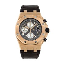 Audemars Piguet Royal Oak Offshore Chronograph Rose gold 42mm Brown Arabic numerals United States of America, New York, New York