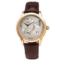 Glashütte Original Yellow gold Manual winding 38mm pre-owned PanoReserve